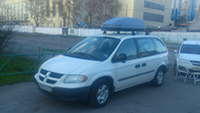Автобокс Thule Touring M (200) 634200 титановый на Chrysler Grand Voyager, фото 2